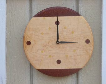 Handmade Wood Clock***FREE SHIPPING***