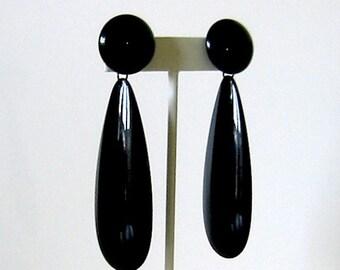 Mod style earrings