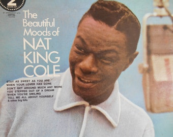 Nat King Cole- The Beautiful Moods Of Nat King Cole vinyl Record