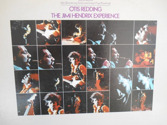 Otis Redding And The Jimi Hendrix Experience Live By
