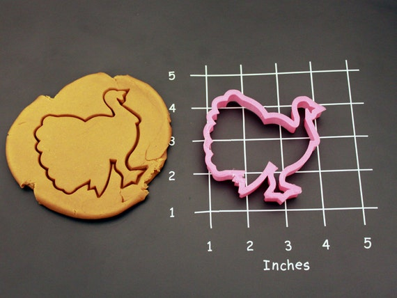 Turkey Cookie Cutter Made to order B0106