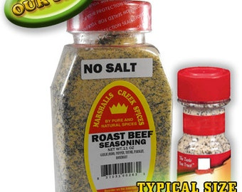 ROAST BEEF seasoning No Salt 11 oz