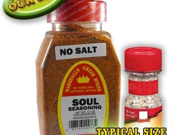 SOUL SEASONING, No Salt 11 oz