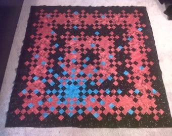 Frozen Star Throw Quilt Pattern