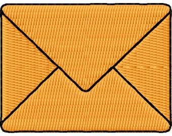 Mail Envelope Mini Embroidery Design