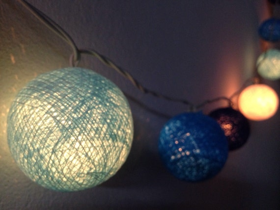 cotton ball lights for home decorparty by icandylighting