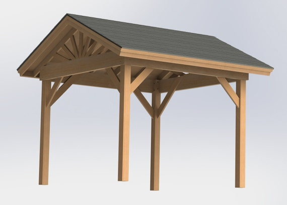 Free 10×10 Wood Shed Plans