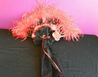 Black & Red Fan
