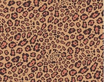 Leopard print craft  vinyl sheet - HTV or Adhesive Vinyl -   cheetah print vinyl  HTV1