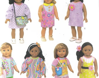 "Simplicity 1713 18"" doll clothing pattern"