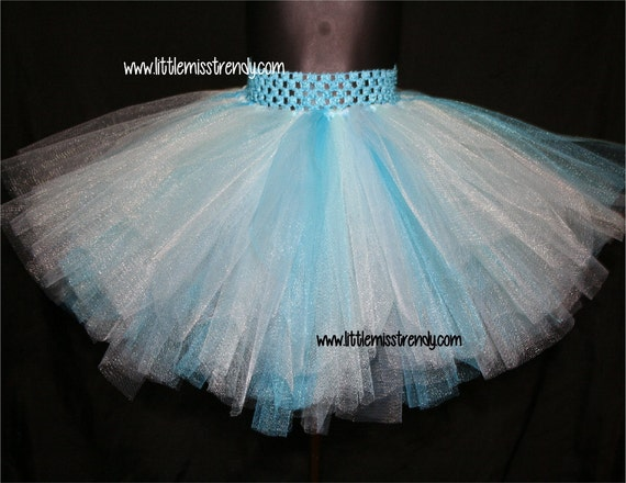 frozen tutu skirt aqua blue turquoise and by