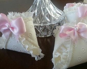 Set Of Ten Diaper Favors / Baby Shower Favors