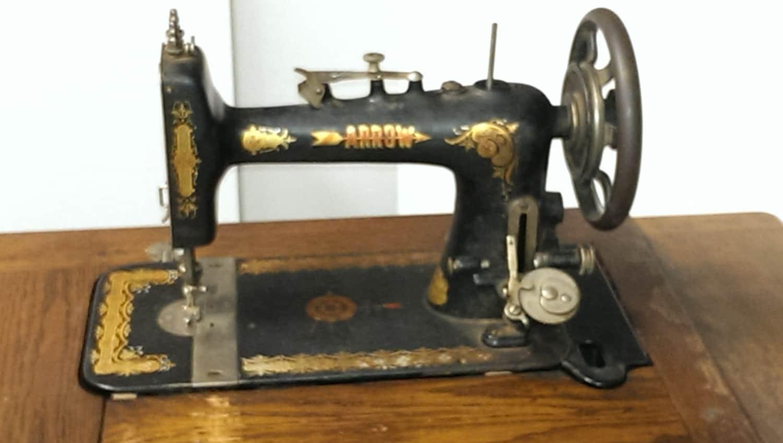 Antique Sewing Machine Vintage Treadle Sewing Machine Standard