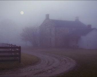 Evening on a Farm - Hale Farm - Ohio - Color Photo Print - Fine Art Photography (HF02)