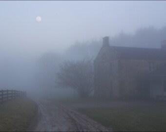 Evening on a Farm - Hale Farm - Ohio - Photo Print Nature Photography (HF03)