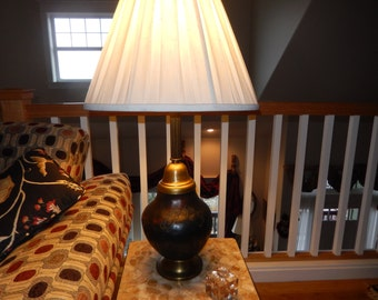 "POTTERY TABLE LAMP Signed ""Fremont"""