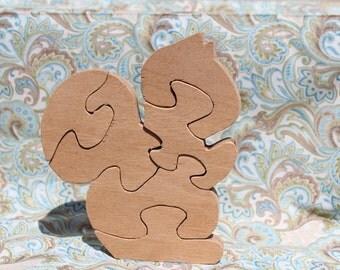 Large (6-piece) Squirrel Puzzle