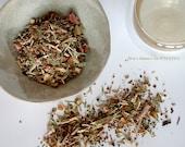 Organic tea men's Hormone Balance blend, male reproductive system, energy boost loose leaf (2.6oz/75g)