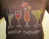 Group Therapy Rhinestone Shirt