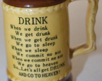 Drink small tankard