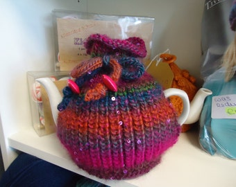 Pattern: Galaxy Tea Cosy