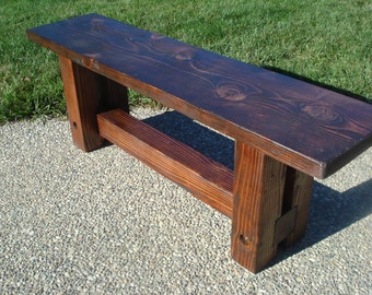 Wooden Bench-Shipping for Dana