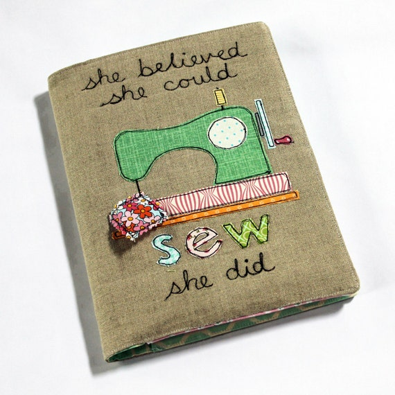 refillable journal cover