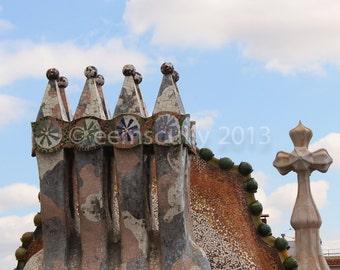 Casa Batllo - Gaudi - Barcelona Spain 8x10