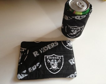 Raiders Inspired Mug Rug Set