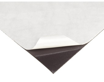 Adhesive Magnet Sheets - Make your own magnets!! 4x6 inches. 10 Sheets