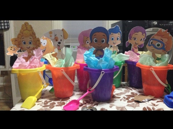Etsy your place to buy and sell all things handmade vintage and supplies - Bubble guppies center pieces ...