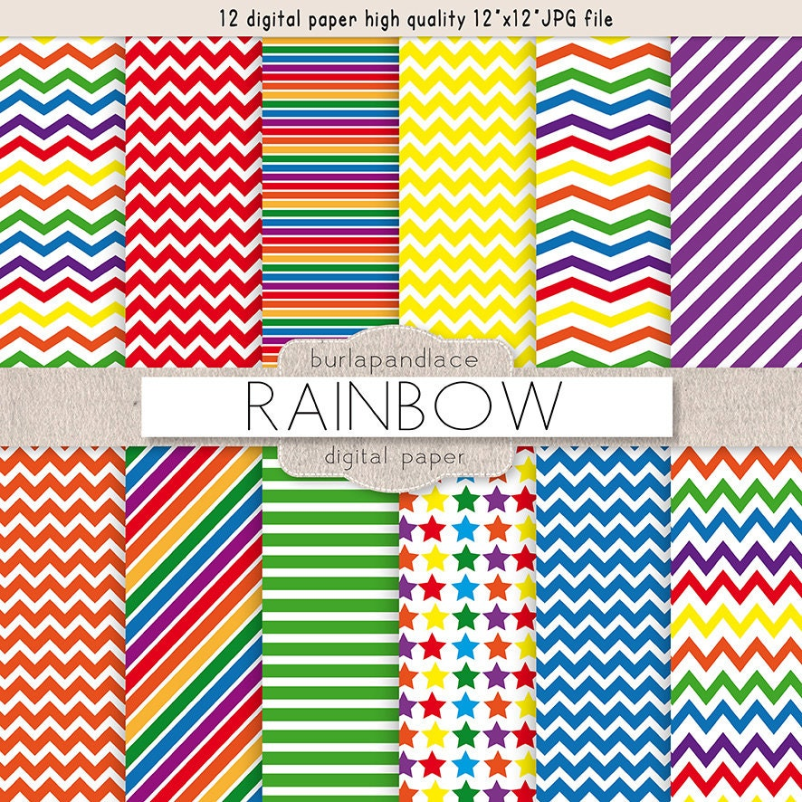 rainbow chevron background - photo #13