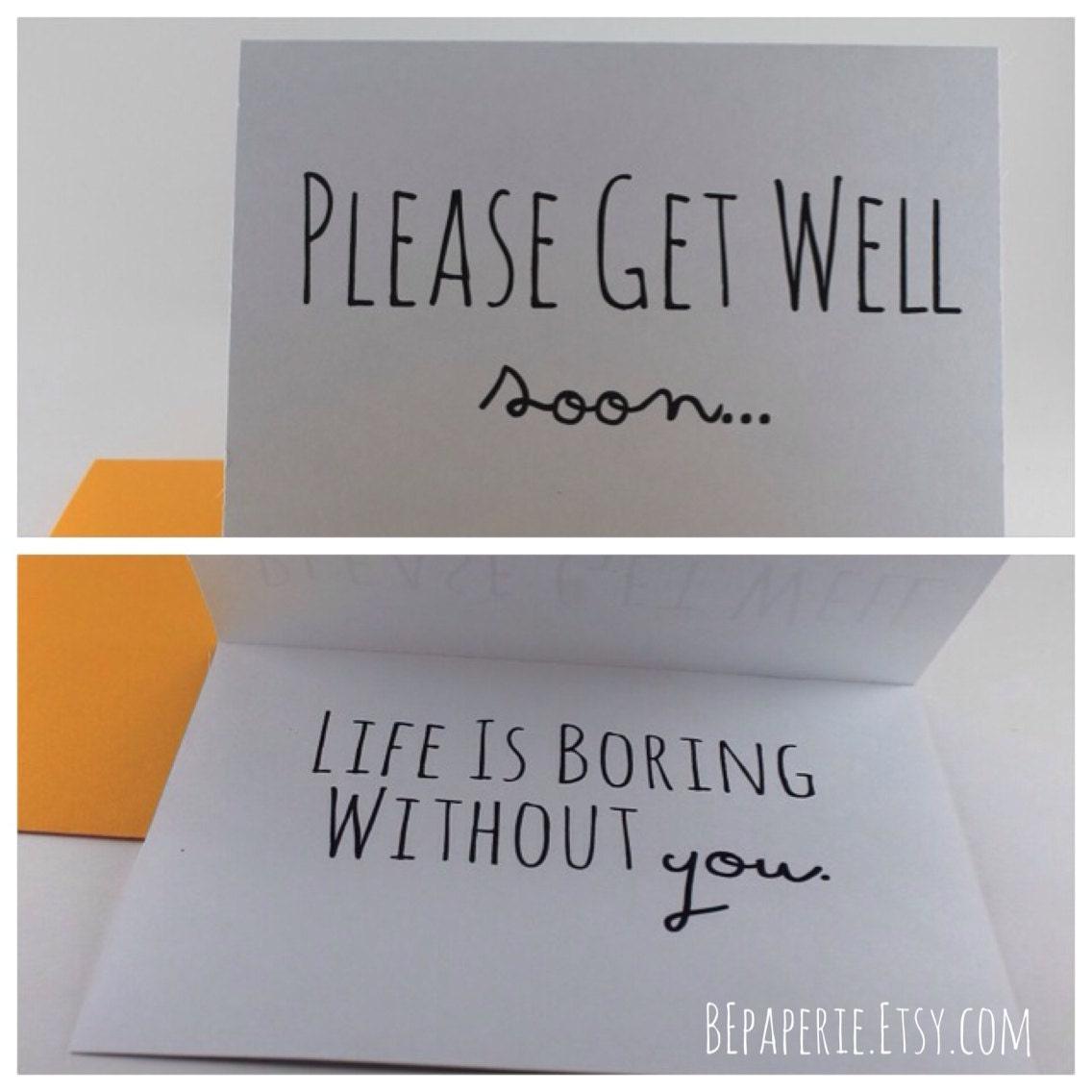 get well soon card thinking of you card funny get well