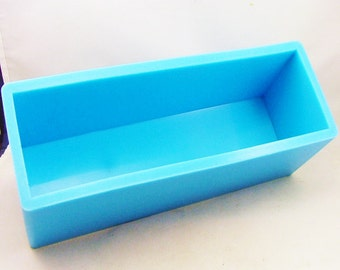 Soap Mold Silicone Mold Soap Mould Cuboid Bar Loaf Candle Mold Resin Mold 1.5kg