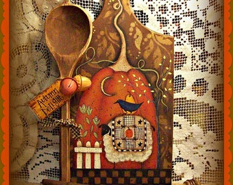 Autumn Delight - Painted by Martha Smalley, Painting With Friends E Pattern