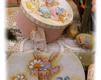 Easter Bonnets by Terrye French, E-Pattern