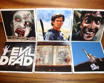 Evil Dead Coasters (set of 6)