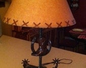 Table Lamp with Horseshoe...