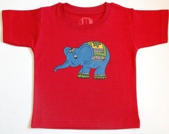 Indian elephant tshirt for toddlers