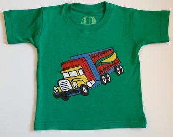 Indian truck tshirt for toddlers