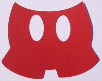 30 Mickey Mouse Pants- Scrapbooking , Decorations, Crafting, Card ...
