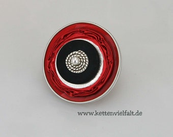 "Upcycling ring coffee capsules ""Decaffeinato"" - #226"