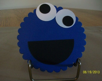 Cookie Monster Gift Card Holder