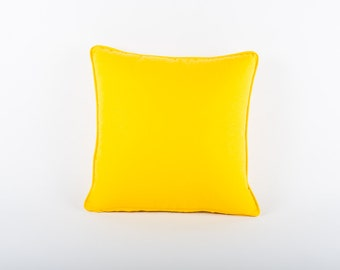 Yellow Scatter Cushion Cover