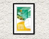 Hermosa Beach California Print 17x27
