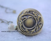 bronze The Vampire Diaries jewelry Verbena locket elena necklace