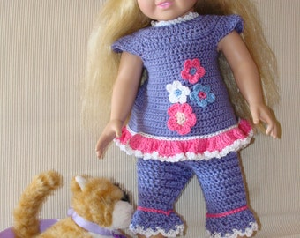 summer outfit for 18 inch doll