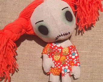 Scary Handmade 01. Creepy Zombaby, zombie doll