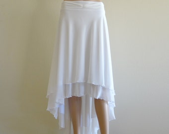 White Skirt. Maxi Skirt. Long Skirt