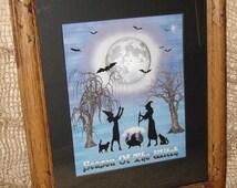 Season of the Witch - Halloween Art Work